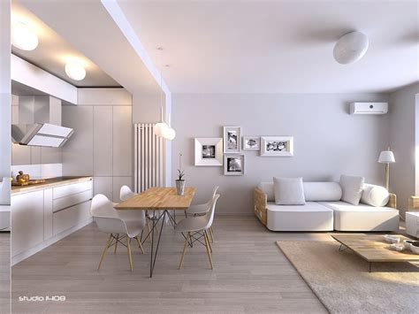 A Minimalist Modern Apartment In White by White Is Often Considered The Supreme Color Choice For A