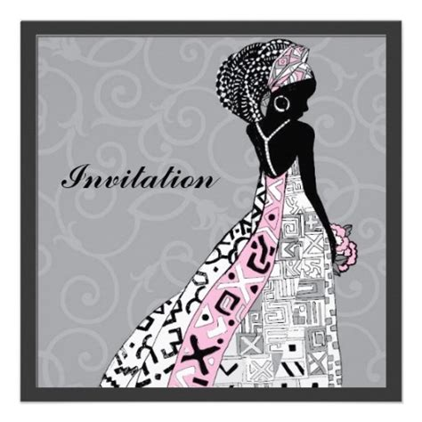 South African Wedding Invitations Samples Xhosa Wedding Invitation