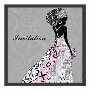 african american bride wedding invitation With african wedding invitations samples