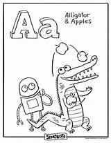 Storybots Abc Coloring Pages Sheets Activities Letter Story Bots Alphabet Sheet Activity Learning Words Apples Ask Hooray Para Books Printables sketch template