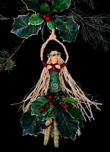 wiccan christmas decorations tree topper pagan crafts pagan wiccan spiral yule goddess handcrafted altar figure tree topper pagan