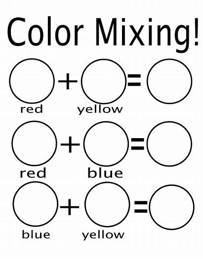 Worksheet Secondary Mixing Blending Printable Worksheeto Via
