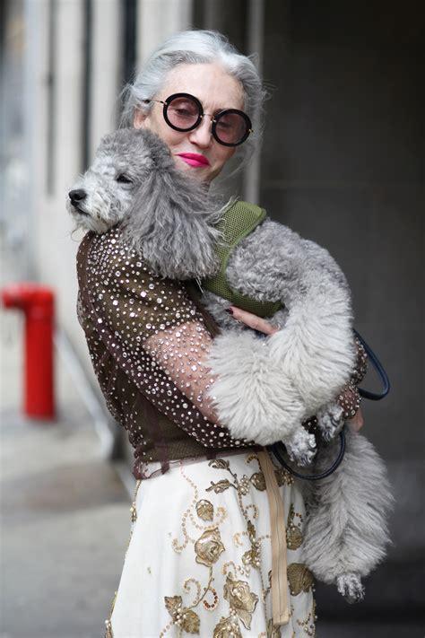 puppy love linda rodin advanced style