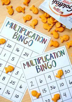 times table bingo  learning multiplication
