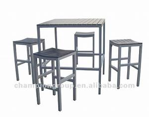 Chaise De Bar Exterieur : table de bar exterieur ~ Teatrodelosmanantiales.com Idées de Décoration