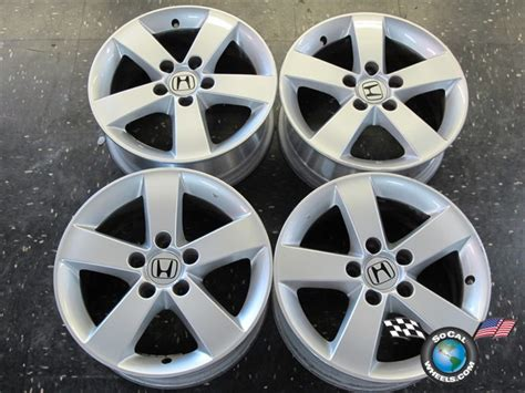 Four 06-11 Honda Civic Factory 16 Wheels Oem Rims 63899
