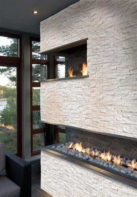 venice white stackstone ledger stone quartzite stacked