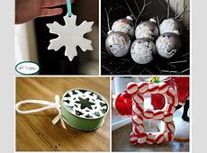 19 Home Made Christmas Ornaments {to make} Tip Junkie