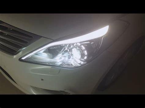 hyundai azera  iluminacao  interior youtube