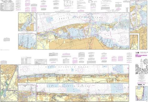 noaa chart  intracoastal waterway west palm beach  miami