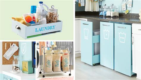 Laundry Room Storage & Organization Ideas