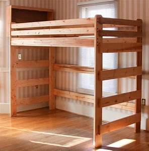 Loft, Bed, Woodworking, Plans, U2013, Bed, Plans, Diy, U0026, Blueprints