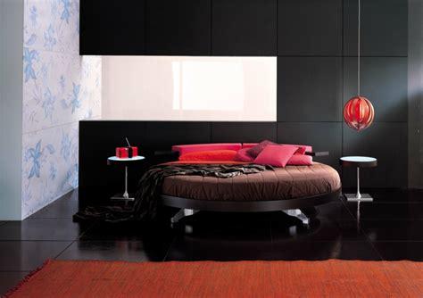 lit rond design pour la chambre adulte moderne en  idees