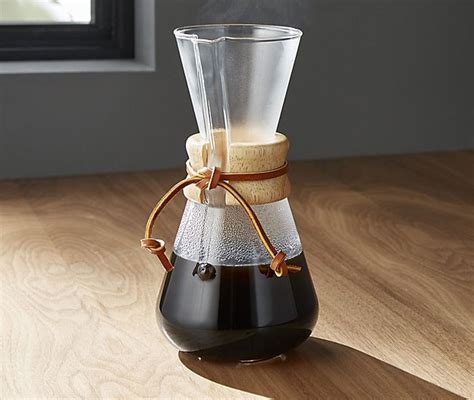 Speaking of pour over coffee ratio and pour over coffee grind size comparisons, you should be looking although chemex as a brand has more than one manual brewer on the market, the classic design pour over coffee: Chemex 3-Cup Coffee Maker