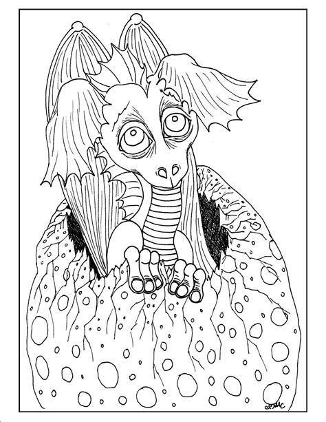 Coloring Pages Sea Serpent Dragon Coloring Pages