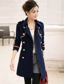 Military Style Trench Coat for Women