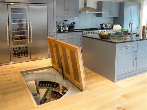 wine cellar in kitchen floor spiral cellars underground wine storage system 1904