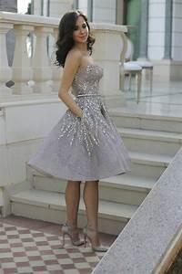 Robe Bal De Promo Courte : la robe de fian ailles 50 joli s variant s ~ Nature-et-papiers.com Idées de Décoration