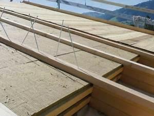 Spot Encastrable Exterieur Sous Toiture : isolation en fibre de bois de la toiture par l ext rieur ~ Melissatoandfro.com Idées de Décoration