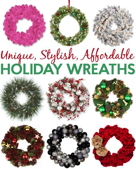 Affordable Holidays by Unique Stylish Affordable Wreaths You Want Now