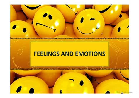 Feelings & Emotions Worksheet  Free Esl Projectable Worksheets Made By Teachers