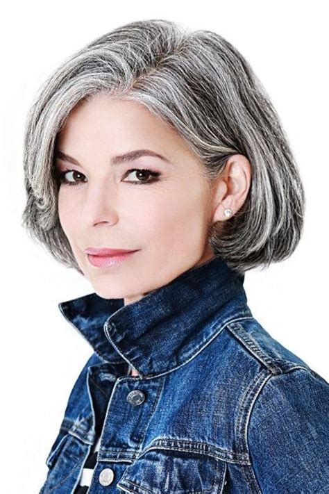 amazing gray hairstyles  love southern living