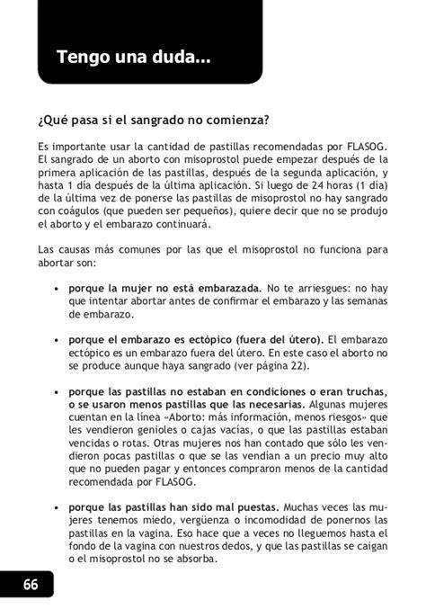 Cytotec Como Usarlo Manual Aborto Con Pastillas Argentina