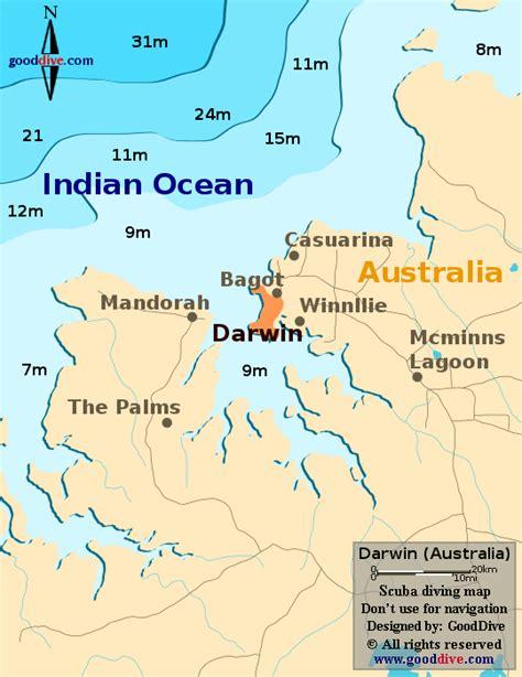 darwin map goodivecom