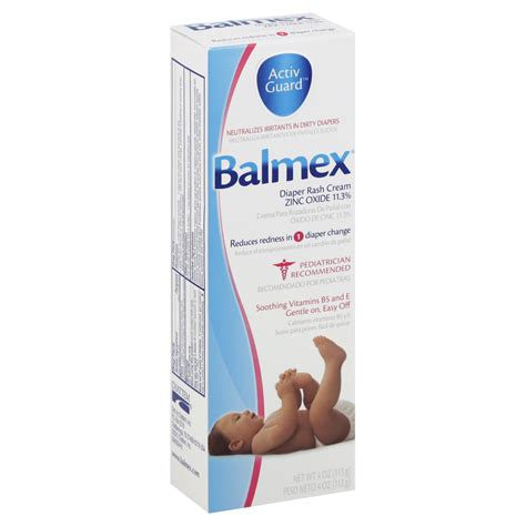 Balmex Diaper Rash Cream 4 Oz 113 G Shop Your Way