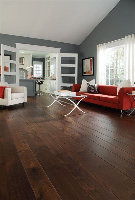 Living Room Ideas Wooden Floors by The Wide Plank Wood Floors Walnut Home Ideas