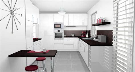 cuisine avec ot davaus decoration d une cuisine moderne avec des