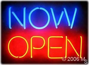 Neon Sign NOW OPEN 15