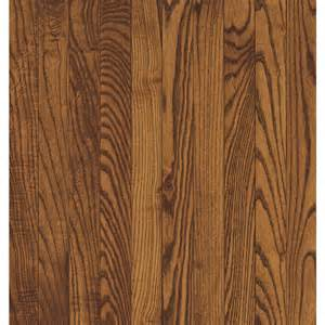 shop bruce 2 25 in w prefinished oak hardwood flooring spice at lowes