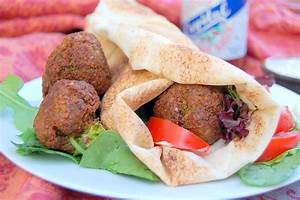 Falafel Sandwiches | It's Not Easy Eating Green