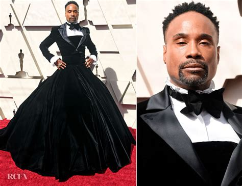 Billy Porter Christian Siriano Oscars Red