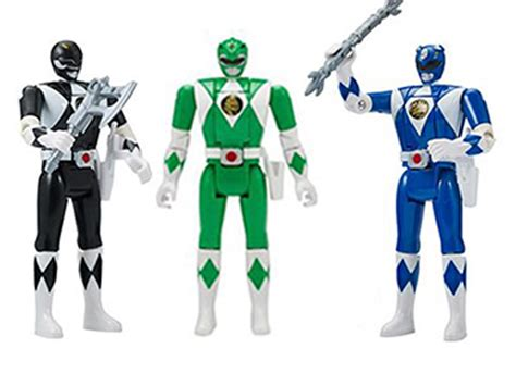 Mighty Morphin Power Rangers Legacy Head Morph Wave 2 Set ...