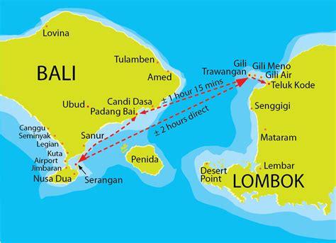 gili islands indonesia tourism