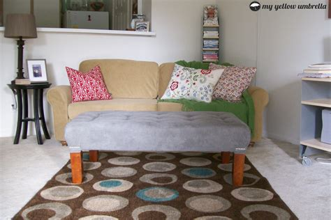 Diy Tufted Ottoman by Feature Friday A Day Late