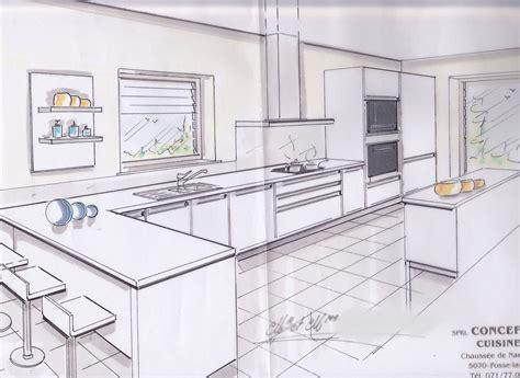 plan meuble cuisine cuisine sur plan