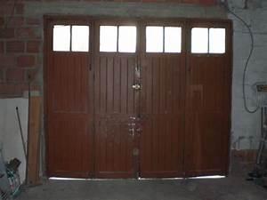 Porte De Garage Bois : installation d 39 une porte de garage sectionnelle 95 ~ Melissatoandfro.com Idées de Décoration