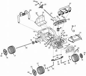 Power Wheels Barbie Jazzy Jeep Parts