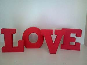 17 best images about Letras 3D Tecido on Pinterest