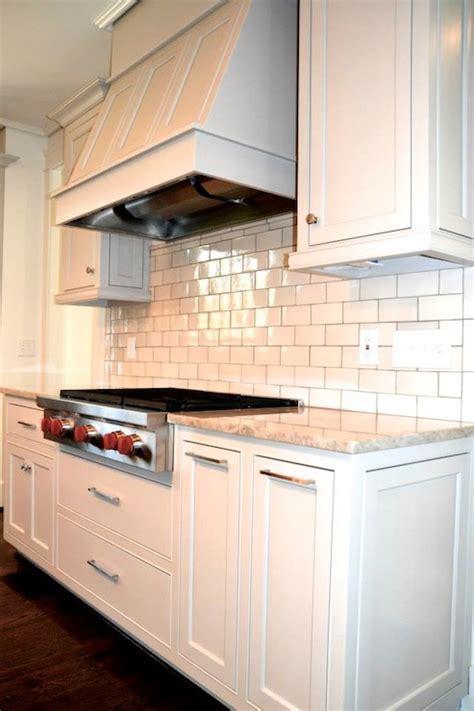 glazed subway tiles contemporary kitchen benjamin