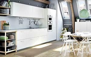 Küchen Regale Ikea : eine wei e metod k che mit veddinge fronten in wei ikea k chen liebe pinterest k che ~ Markanthonyermac.com Haus und Dekorationen