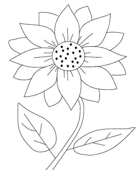 mewarnai gambar bunga untuk anak paud tk sd