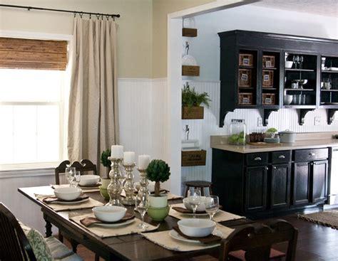 Lettered Cottage Kitchen
