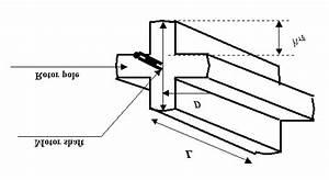6 Motor Dimensions   A  Stator Dimensions   B  Rotor