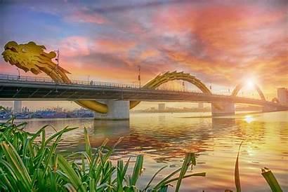 Vietnam Tourism Bridge Dragon Industry Nang Hotspot