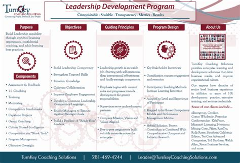 leadership training programs tkcs