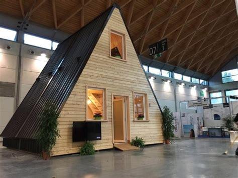 foldable prefab  frame cabin  madi  italy